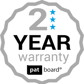 PATboard 2 year warranty on scrum and kanban magnets